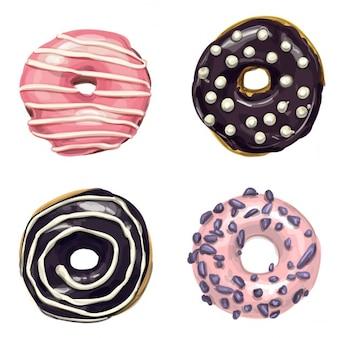 Zoete donuts