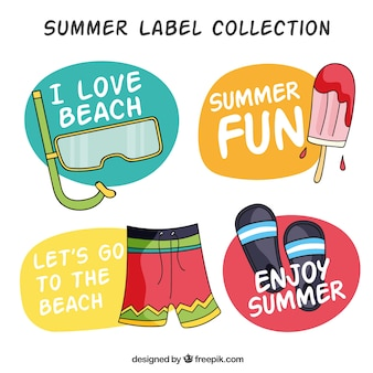 Zomer label collectie
