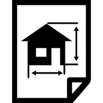 Architektura remis z domu na papierze