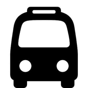Autobus z przodu