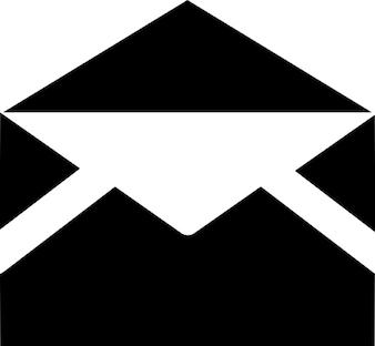 Czarna koperta