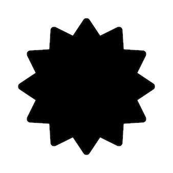 Czarny gwiazda