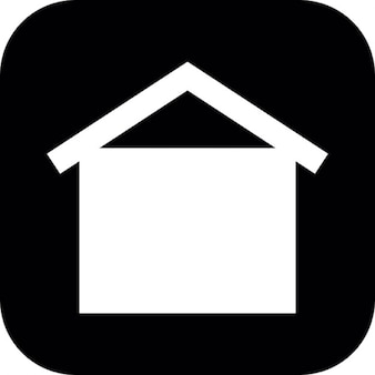 Dom na czarnym tle kwadratowy