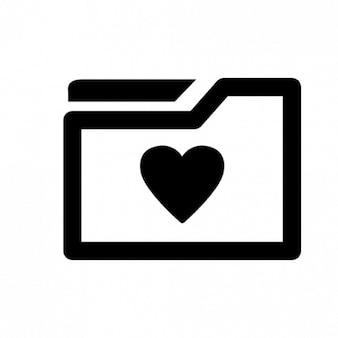 Folder miłość
