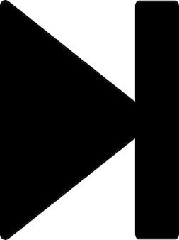 Następny utwór symbol