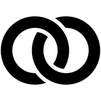 Pierścienie reprezentujące narzeczoną