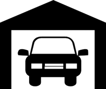 Samochód w garażu