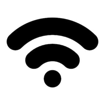 Wifi czarna linia