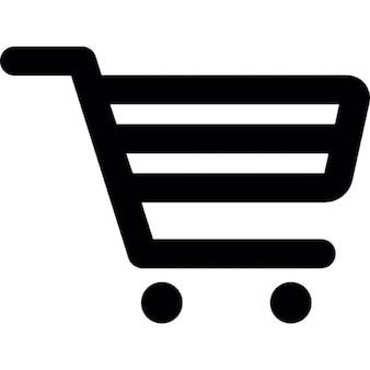Wózek konspektu sklep spożywczy