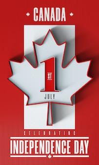 1 lipca świętuje dzień niepodległości w kanadzie - możliwość edycji