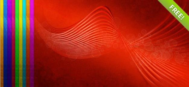 10 abstrakcyjne tła wave
