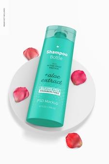 12,5 uncji makieta butelki szamponu, perspektywa