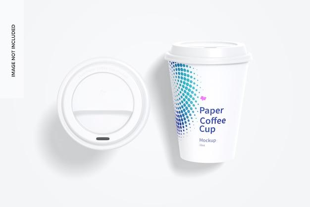 12 uncji papierowych filiżanek do kawy