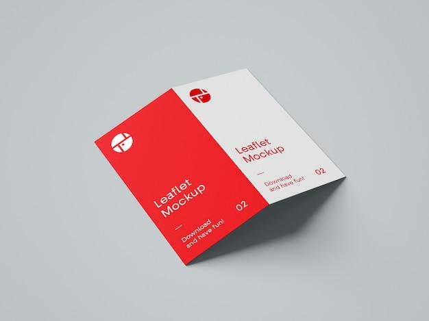 2-krotnie broszura makieta psd