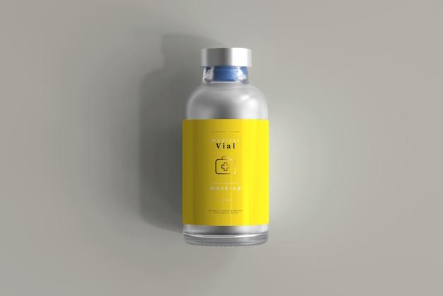 25 ml butelka fiolki makiety