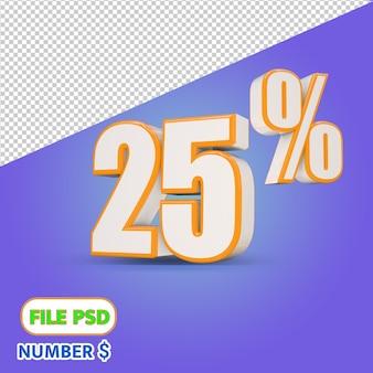25% zniżki