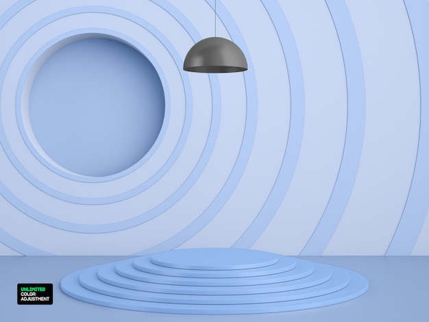 3d geometryczny etap lokowania produktu