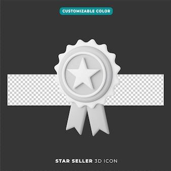 3d ikona gwiazdy selle
