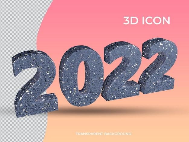3d izolowany 2021 3d przezroczysty tekst ikona projektu