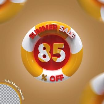 3d letnia wyprzedaż 85 procent oferty kreatywnej