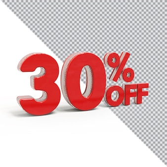 3d liczba 30 procent oferty