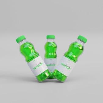 3d makieta butelki soku