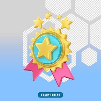 3d render ikona e-commerce bestseller
