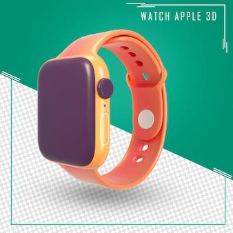 3d render kreskówka inteligentny zegarek