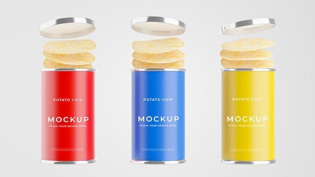 3d render makiety kolekcji butelek ziemniaczanych