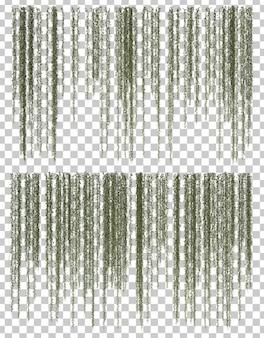 3d rendering obwieszenie roślina