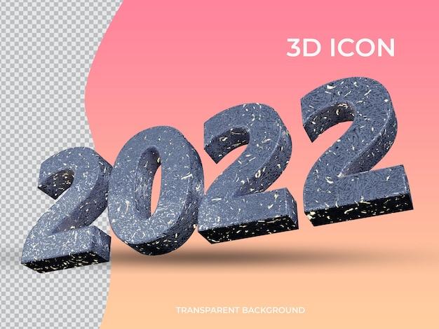 3d renderowane 2021 3d przezroczysty tekst ikona projekt widok z dołu