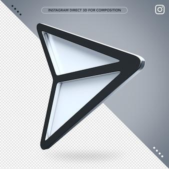 3d szary instagram bezpośredni