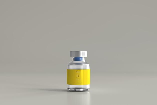 5 ml butelka fiolki makiety