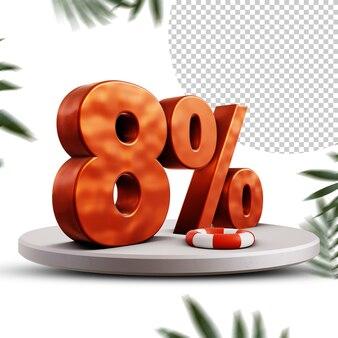 8 procent letni projekt rabatowy