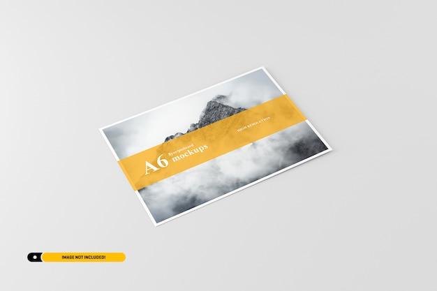 A6 makieta pocztówka / ulotka