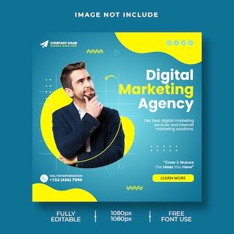 Agencja marketingu cyfrowego promująca biznes post w mediach społecznościowych