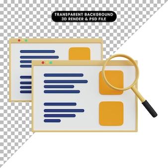 Analityka danych renderowania 3d