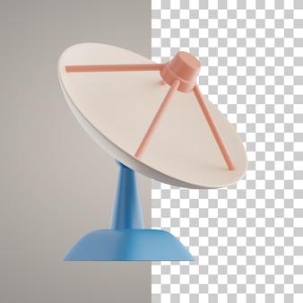 Antena satelitarna 3d