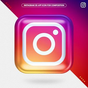 Aplikacja instagram 3d
