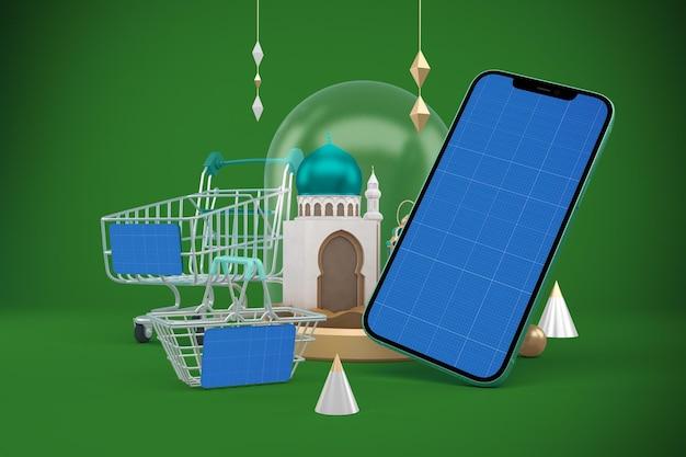 Aplikacja zakupy ramadanu