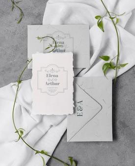 Aranżacja eleganckich makiet ślubnych