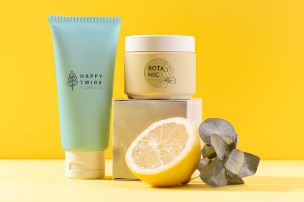 Aranżacja kosmetyków naturalnych