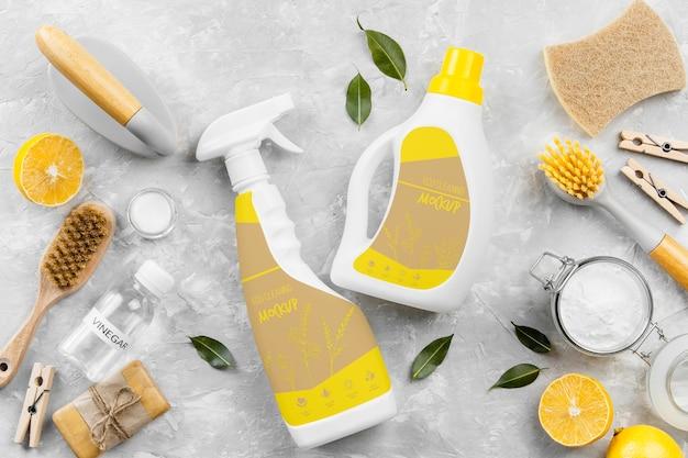 Asortyment ekologicznych środków czystości
