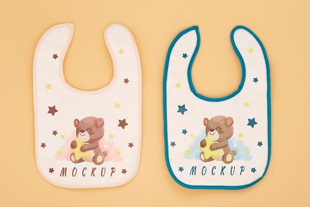 Asortyment elementów do karmienia niemowląt
