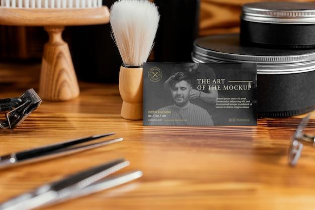 Asortyment makiet dla fryzjera