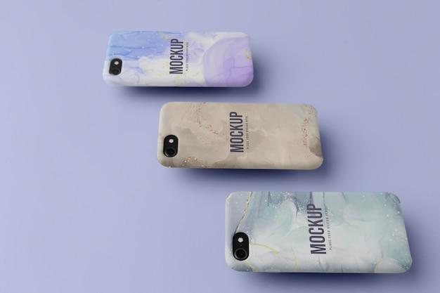 Asortyment makiet na telefony komórkowe
