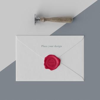 Asortyment makiety pieczęci do koperty