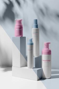 Asortyment produktów do pielęgnacji skóry