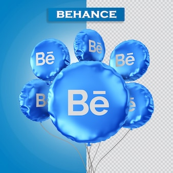 Balony dziękuję za renderowanie 3d obserwatora