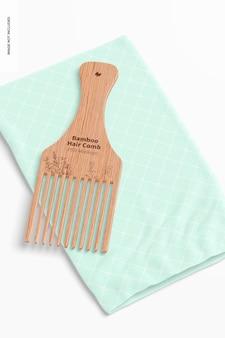 Bambusowy grzebień do włosów